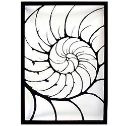 Nautilus Steel Wall Sculpture