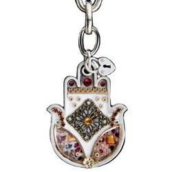Amulet Hamsa Keyring