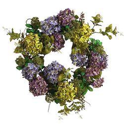 Silk Hydrangea Wreath
