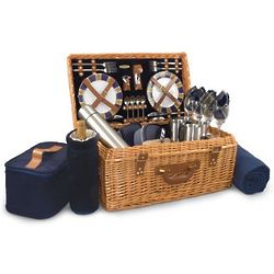 Indianapolis Colts Windsor Willow Picnic Basket