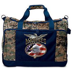 United States Marine Corps Camo Duffel Bag