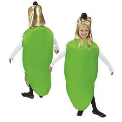 Child's Green Lightbulb Costume