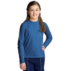 Girl's Long-Sleeve ZnO UPF T-Shirt