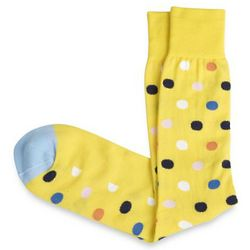Pima Cotton Blend Dot Socks