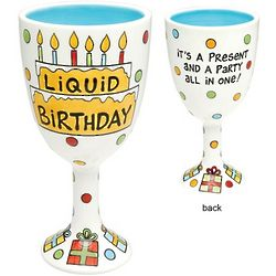 Liquid Birthday Goblet