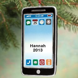 Personalized Cell Phone Ornament