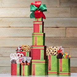 Holiday Sweet Favorites Gift Tower