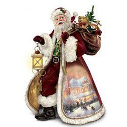 Musical Story-Telling Santa Sculpture
