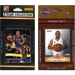 Detroit Pistons Trading Card Team Sets