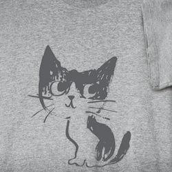 Cute Little Kitty Short-Sleeve T-Shirt