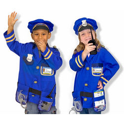 Police Officer Kid's Costume Role Play Set