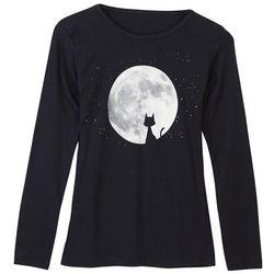 Organic Cotton Moon Cat T-Shirt