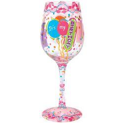It's My Birthday Wine Glass