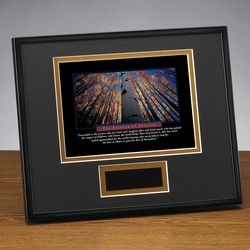 Personalized Essence of Success Framed Print Award