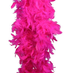 6 Foot Hot Pink Feather Boa
