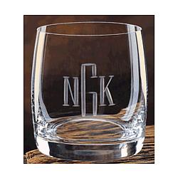 Meridian Crystal 11 oz. Personalized Rocks Glasses