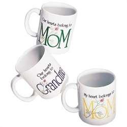 Personalized Mom/Grandma Mug