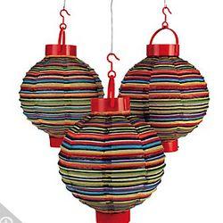 Light-Up Fiesta Lanterns