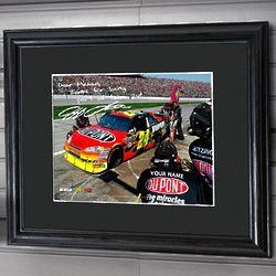 Personalized NASCAR Framed Print