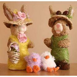 Easter Bunny Couple Set