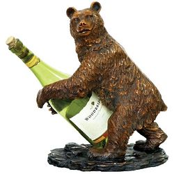 Grizzly Bear Wine Holder