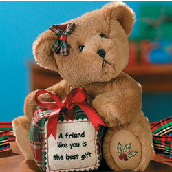 A Friend Like You is the Best Gift Teddy Bear