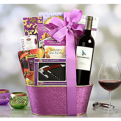 Edenbrook Merlot Spring Selection Gift Basket