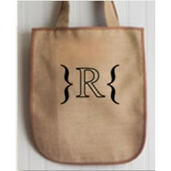 Southampton Personalized Jute Bag