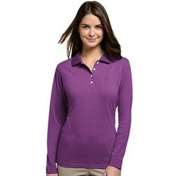 Women's Tropical Weight Long-Sleeve UPF Polo