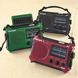 Hand-Crank Emergency Radio