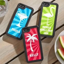 Personalized Destination Vacation Phone Case
