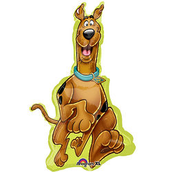 Scooby-Doo Shaped Foil Balloon