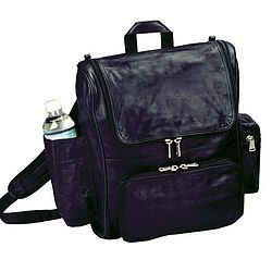Leather Laptop Backpack