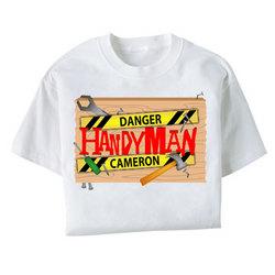 Personalized Handyman T-shirt