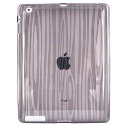 Apple iPad 2 Crystal Soft Gel Skin Cover in Wood Design