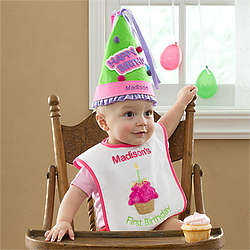 Personalized Birthday Hat for Girls