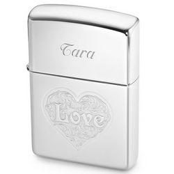 Zippo Love Heart Lighter