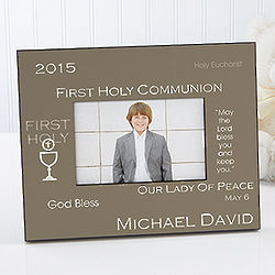 My Special Day Personalized First Communion Photo Frame