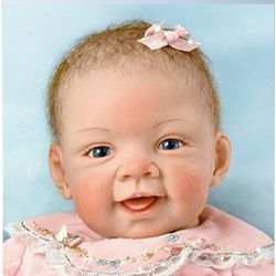 Pretty in Pink Realistic Baby Doll
