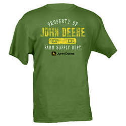 Property of John Deere Green T-Shirt