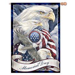 Patriotic Memorial Day Flag