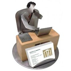 Male Attorney Business Card Holder