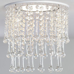 Ring of Crystals Chandelier