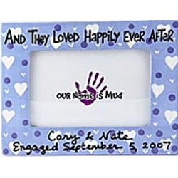Happily Ever After Frame Picture Frame