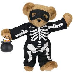Skeleton Bones Teddy Bear