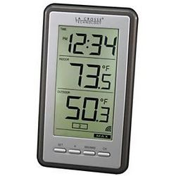 Wireless Thermometer with Digital Time