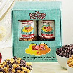 Peanut Butter and Jelly Best Friends Popcorn Gift Box