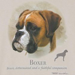 Boxer: Brave, Determined, and Faithful T-Shirt