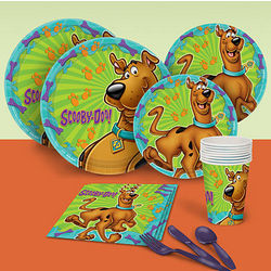 ScoobyDoo Basic Party Place Setting Pack