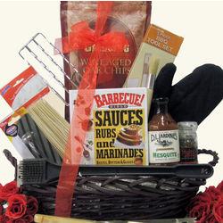 Grillin' & Chillin' Gourmet BBQ Gift Basket